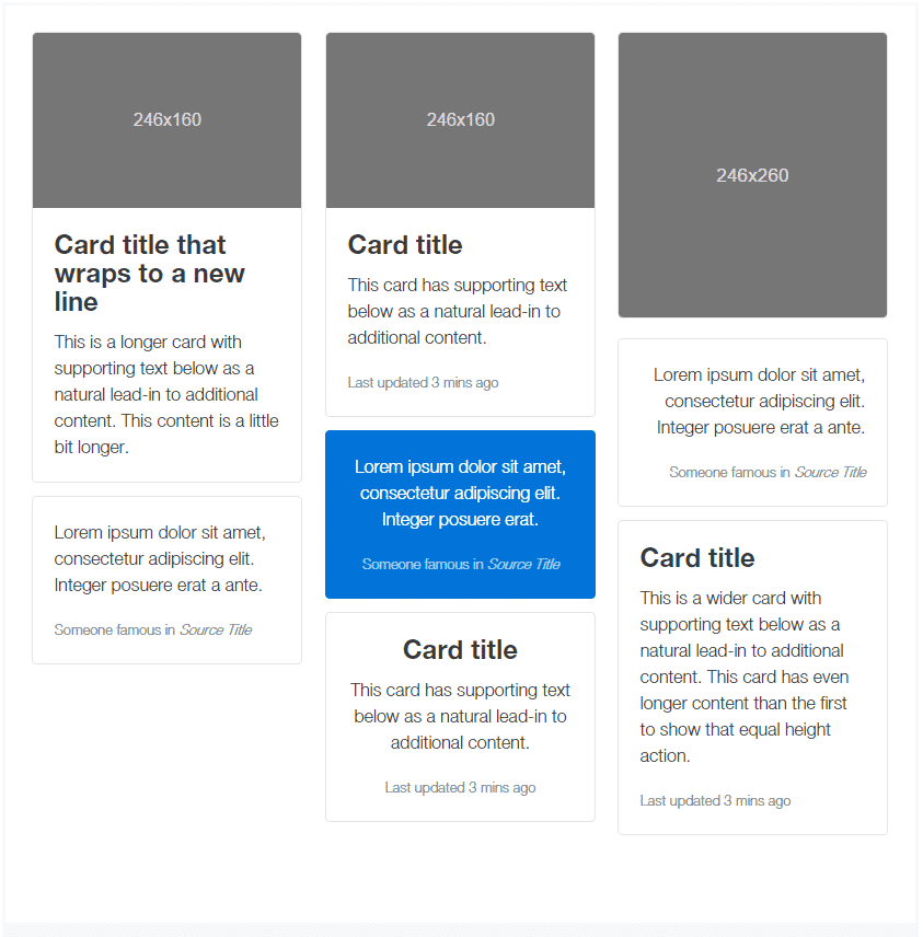 bootstrap-cards