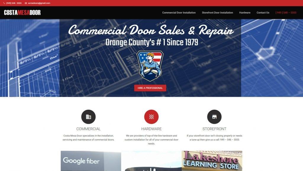 Construction Website Design Services Orange County Ca